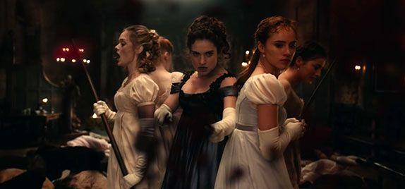 Ecco il primo trailer italiano di PPZ (Orgoglio e Pregiudizio e Zombie)