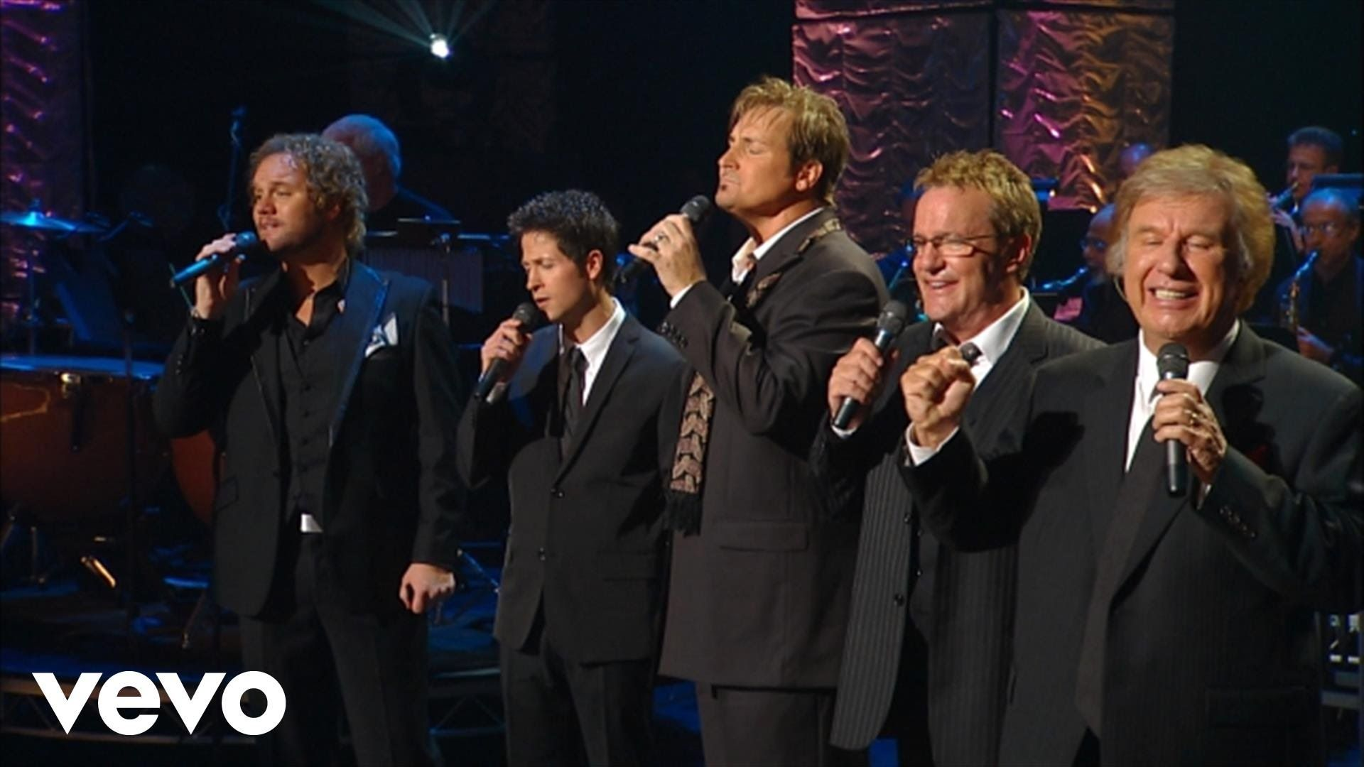gaither vocal band, he touched me