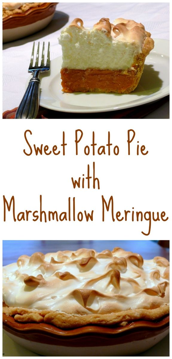 Sweet Potato Pie With Marshmallow Meringue Sweet Potato Pie Sweet Potato Pies Recipes Vegan Sweet Potato Pie