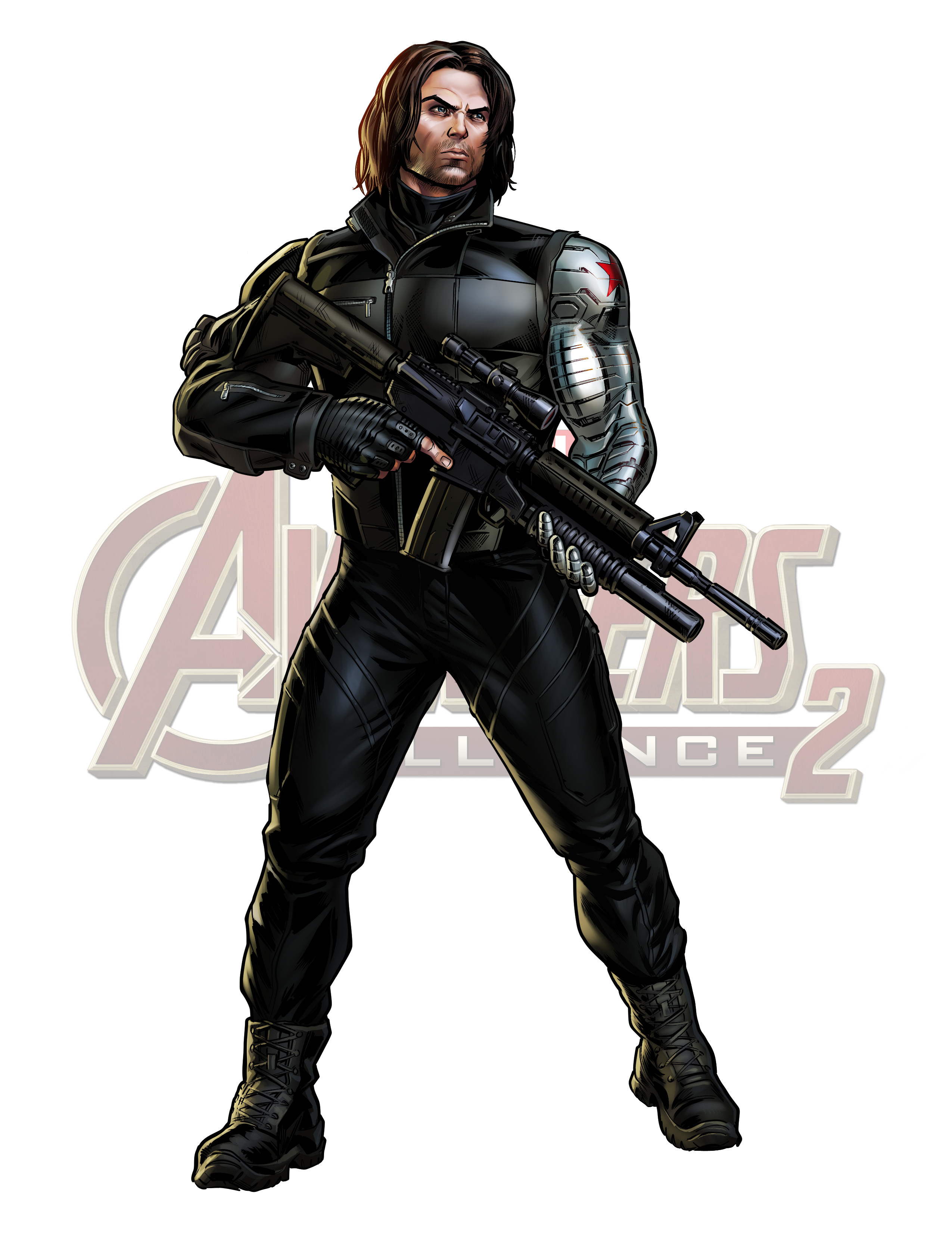 Maa2 Winter Soldier Cw Logo Png 2550 3300 Avengers Alliance Marvel Avengers Alliance Marvel Vs Dc
