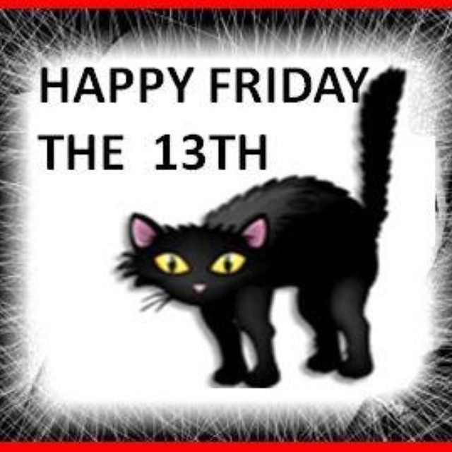 Friday 13th Black Cat Black Cat Friday The 13th Pictures Photos