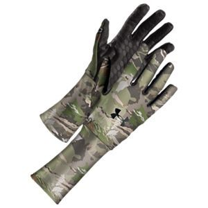 71cff36353 Under Armour ColdGear Camo Liner Gloves for Men - Ridge Reaper Camo ...