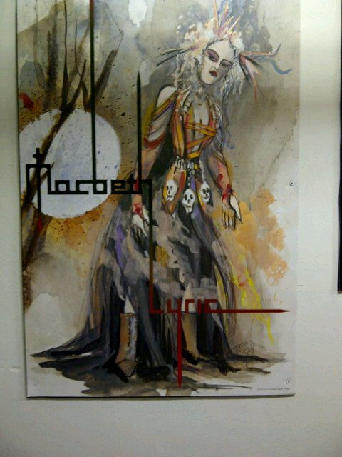 Lyric Opera of Chicago's poster for Macbeth