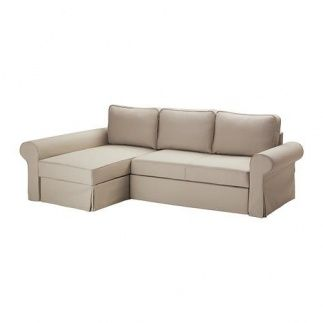 Vendo Sofá Cama Con Chaiselongue Tygelsjö Beige Backabro Ikea Segunda Mano