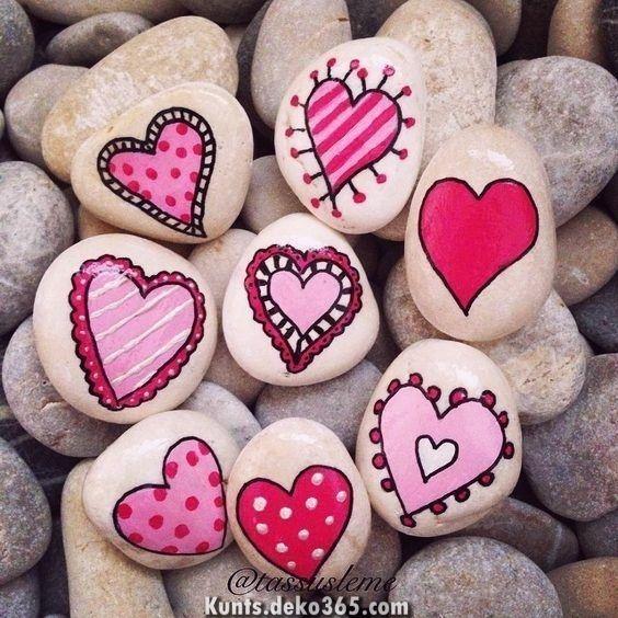 Fantastische wunderschöne und einzigartige Felsmalideen, erschaffen Sie Ihre eigene Kreativit... #bemaltekieselsteine