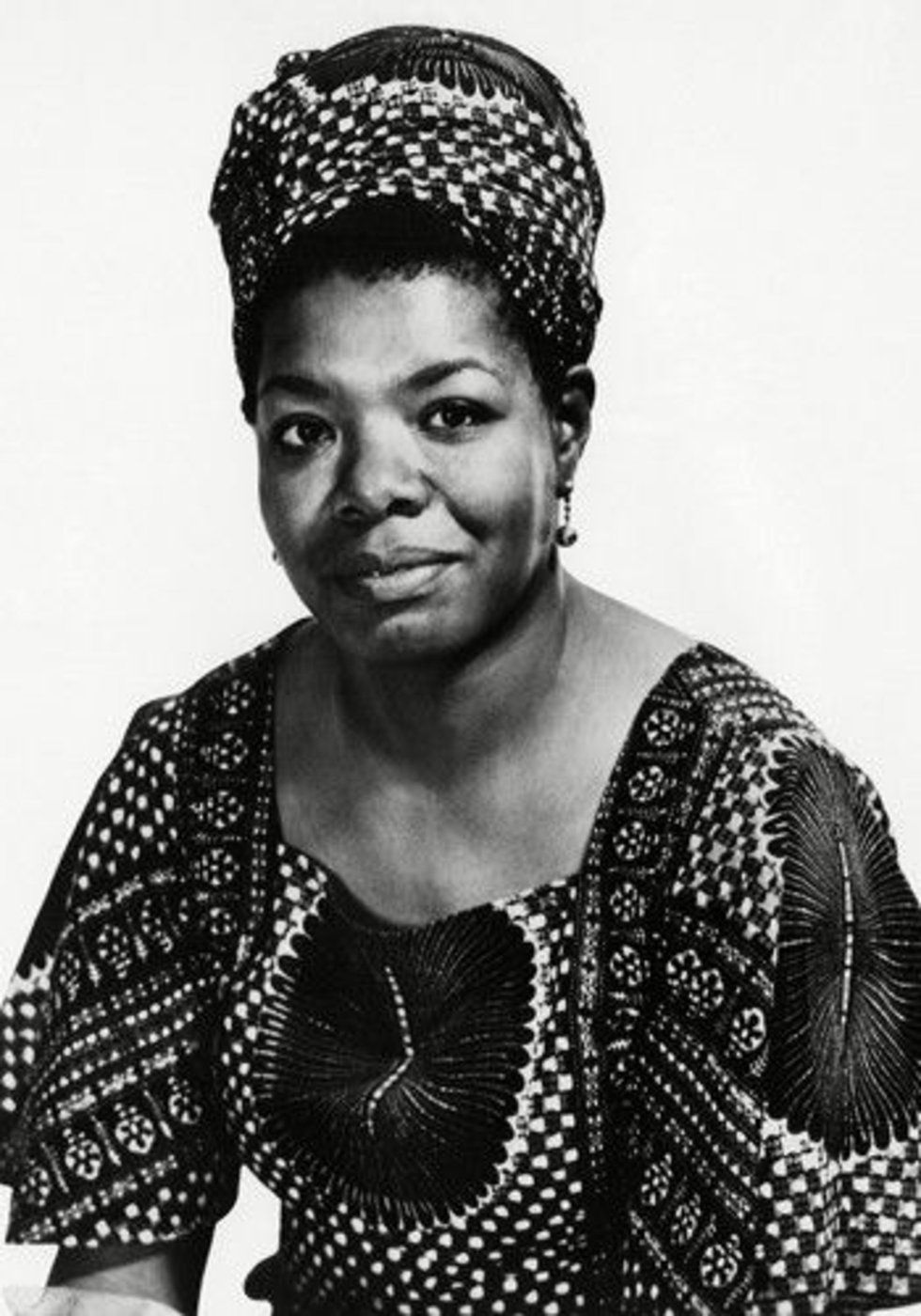 """Maya Angelou """"When I look back, I am so impressed again with the life-giving power of literature. If I were a young person today, trying to gain a sense of myself in the world, I would do that again by reading, just as I did when I was young."""""""