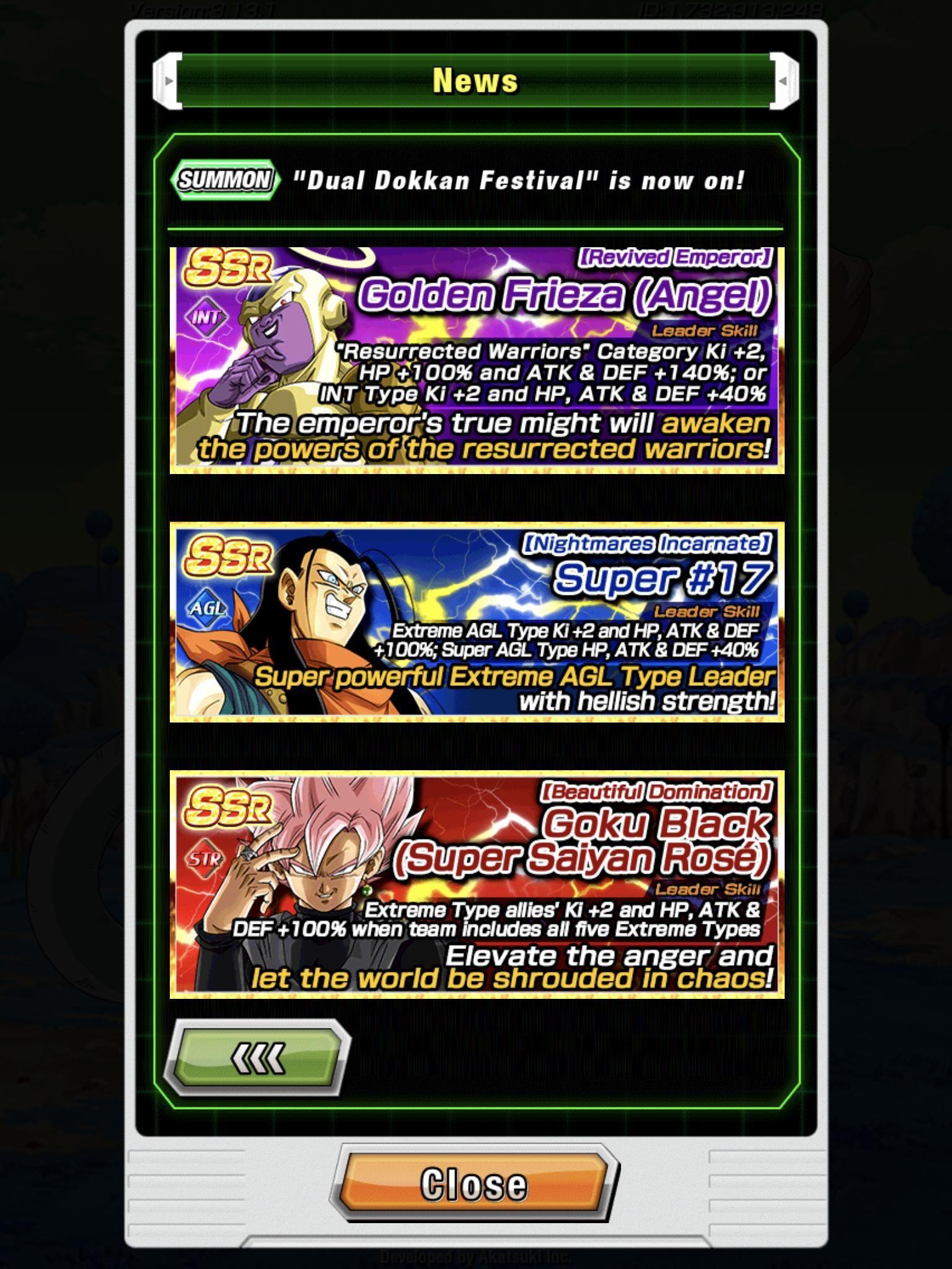 Dokkan Goku Frieza Banner And Discounts Goku Dokkan Frieza Video Games Games