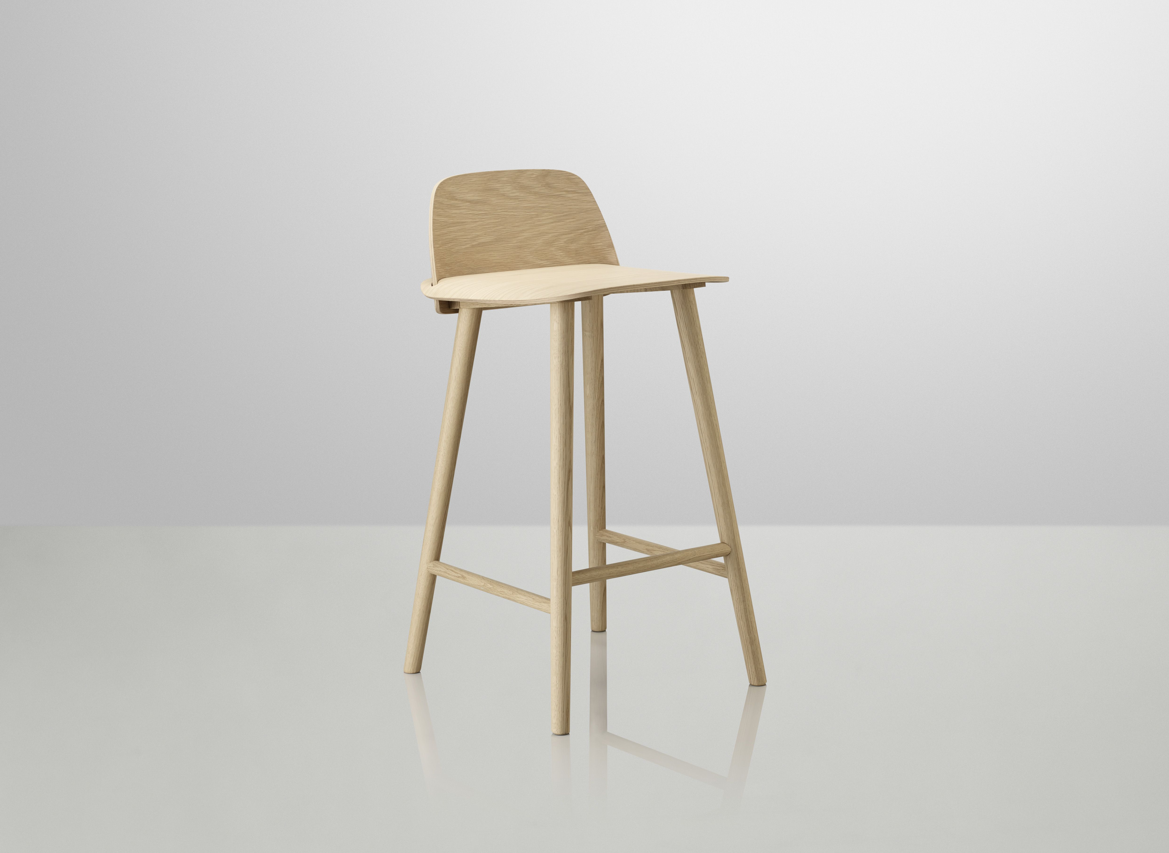 Muuto Nerd Bar Stool. The only bar stool that passes as furniture.
