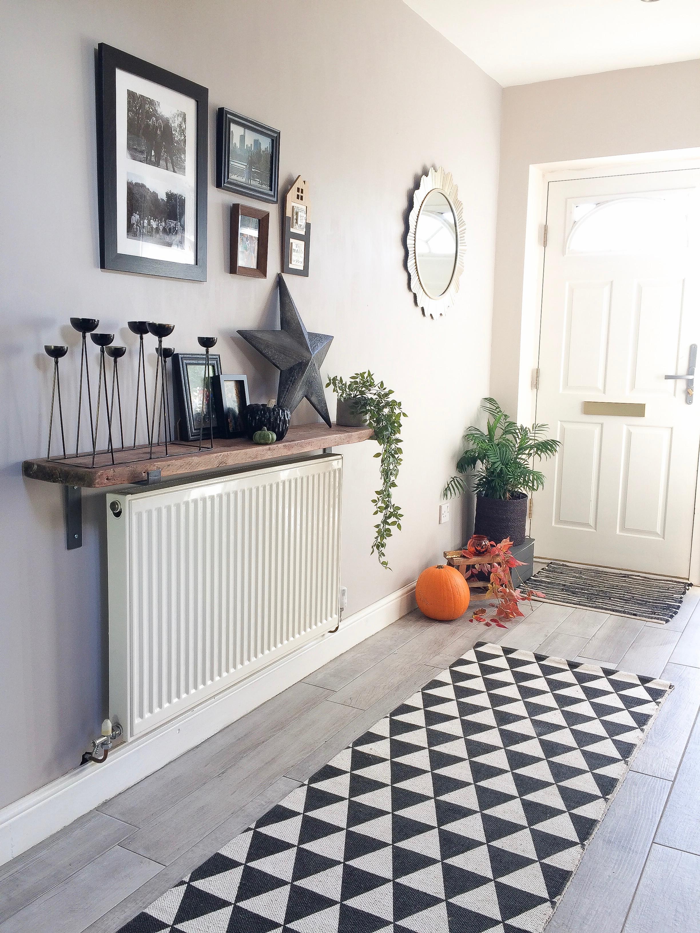 Autumn Hallway styling