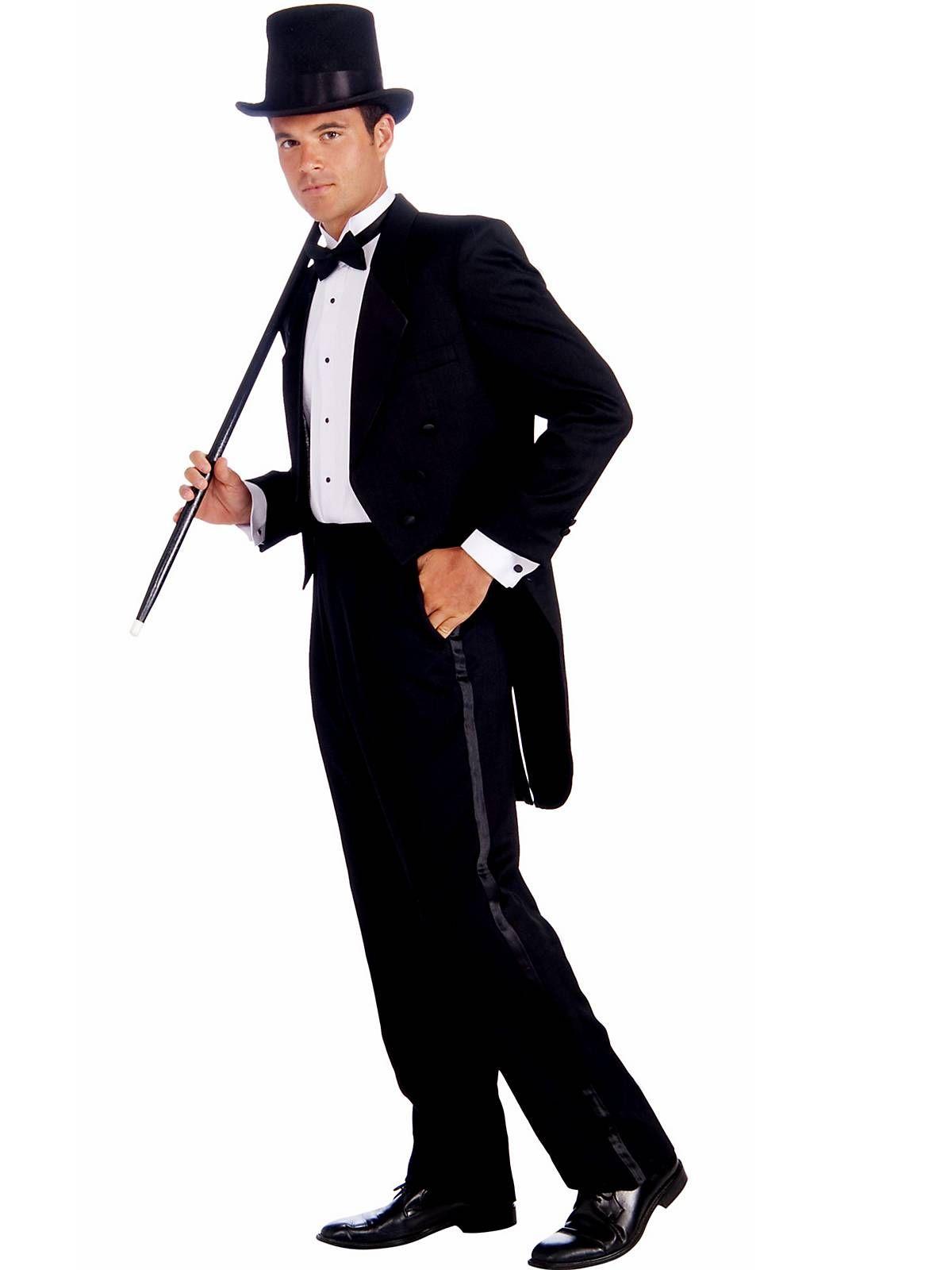 mens vintage hollywood tuxedo adult costume | james bond costumes