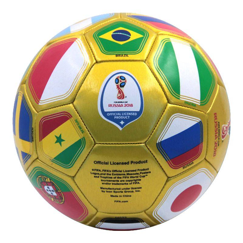 Gold Custom Official World Cup Soccerball Soccer Ball Soccer Ball