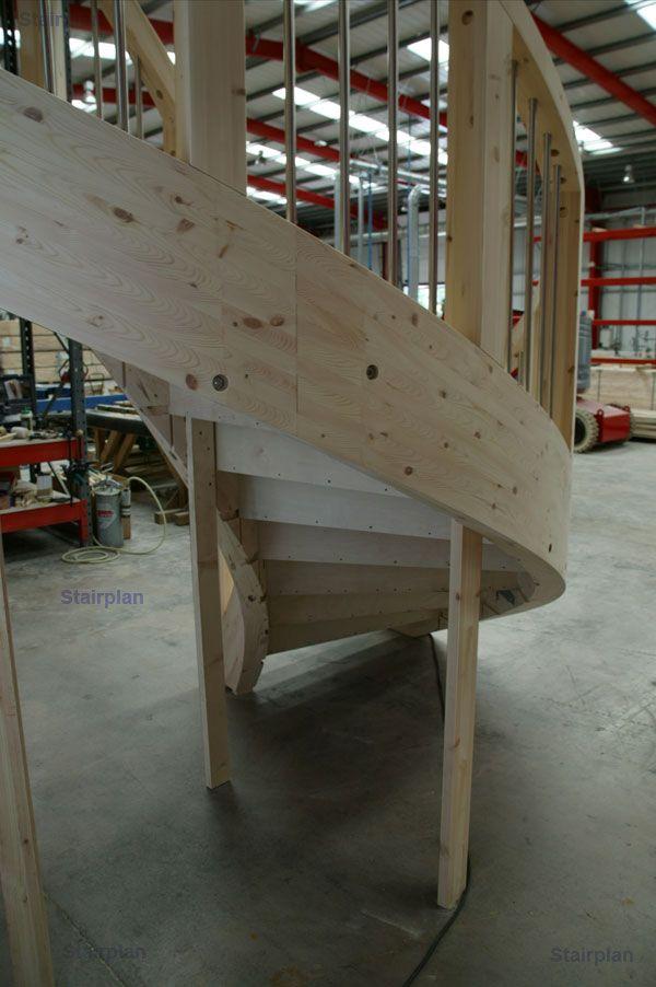 Best Stairplan C Staircase Изогнутая Лестница Винтовые 400 x 300