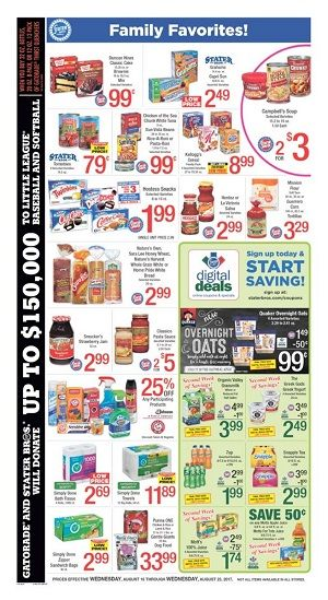 Staters digital coupons