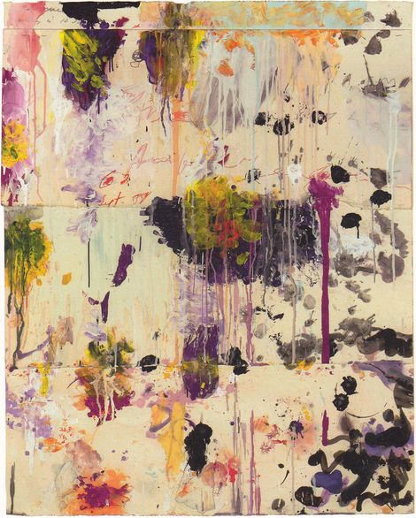 Cy Twombly, Untitled  on ArtStack #cy-twombly #art