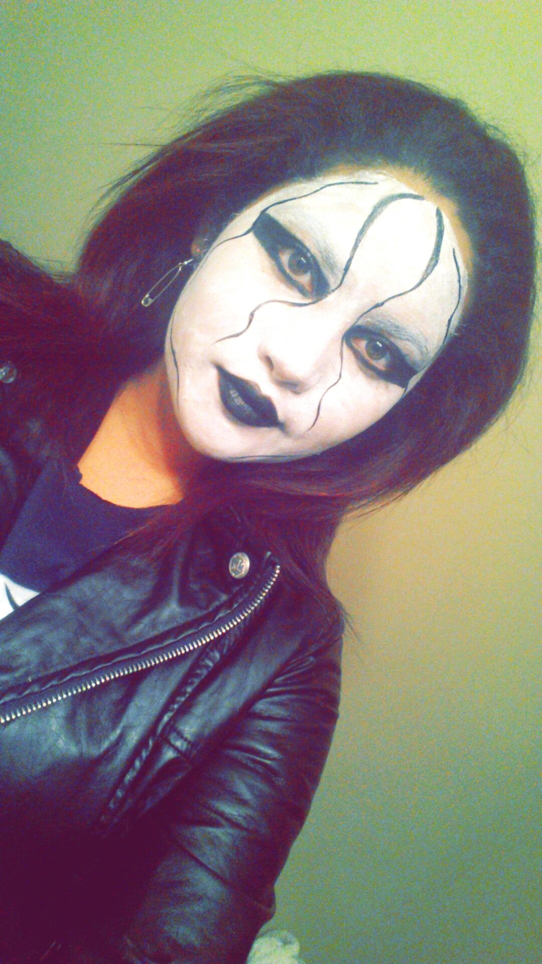 makeup for a female wwe sting costume