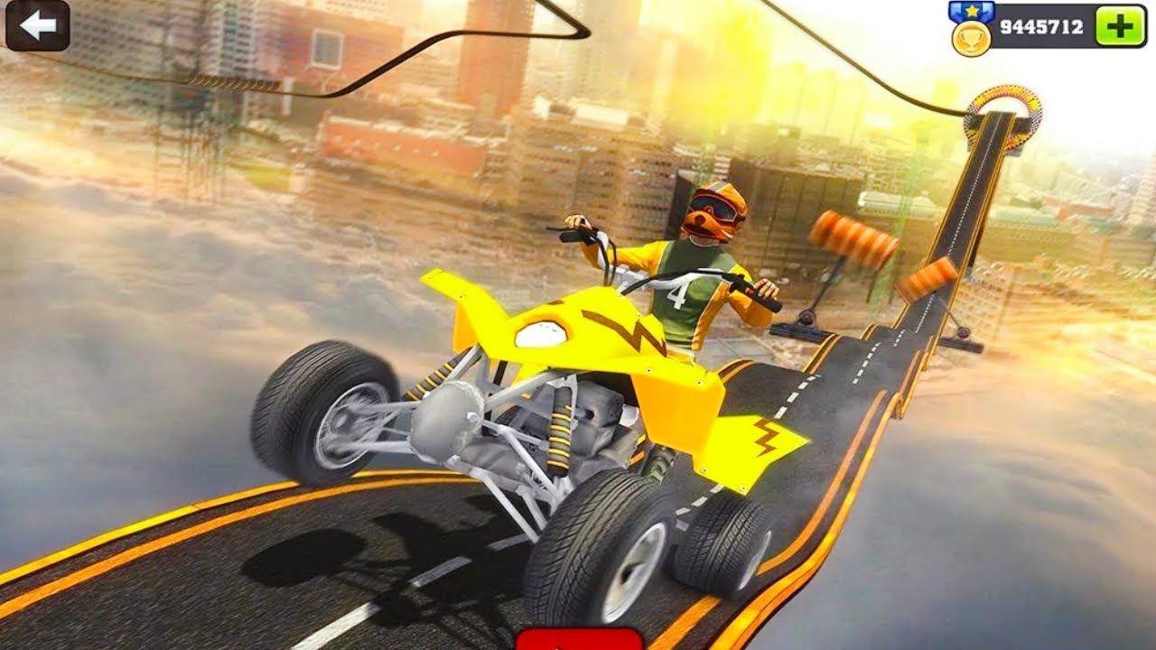 Racing Quad Bike Moto Stunt Atv Impossible Track Best Android