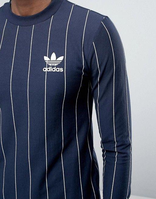 t shirt adidas original manche longue