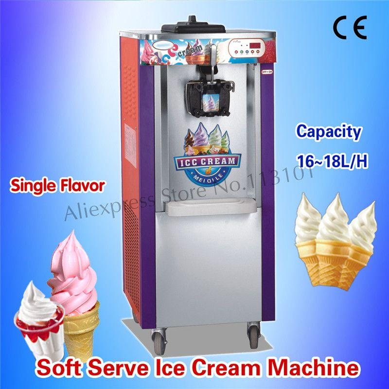 Commercial Soft Serve Ice Cream Maker