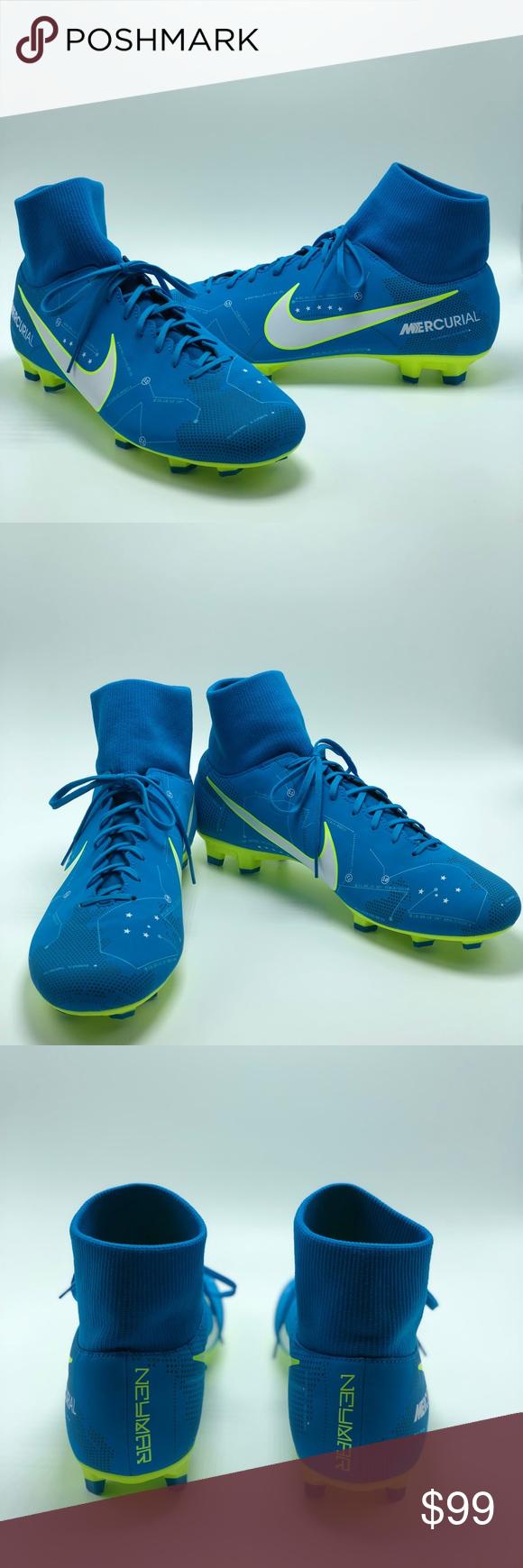 wholesale dealer e8b76 3001d Nike Mercurial Victory IV DF NJR FG Neymar Cleats ...