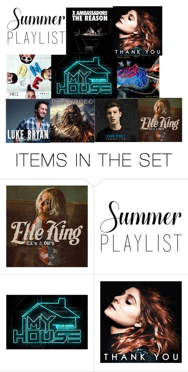 """""""My Awesome Summer Playlist"""" by koalagirl5 on Polyvore featuring art and Summerplaylist"""