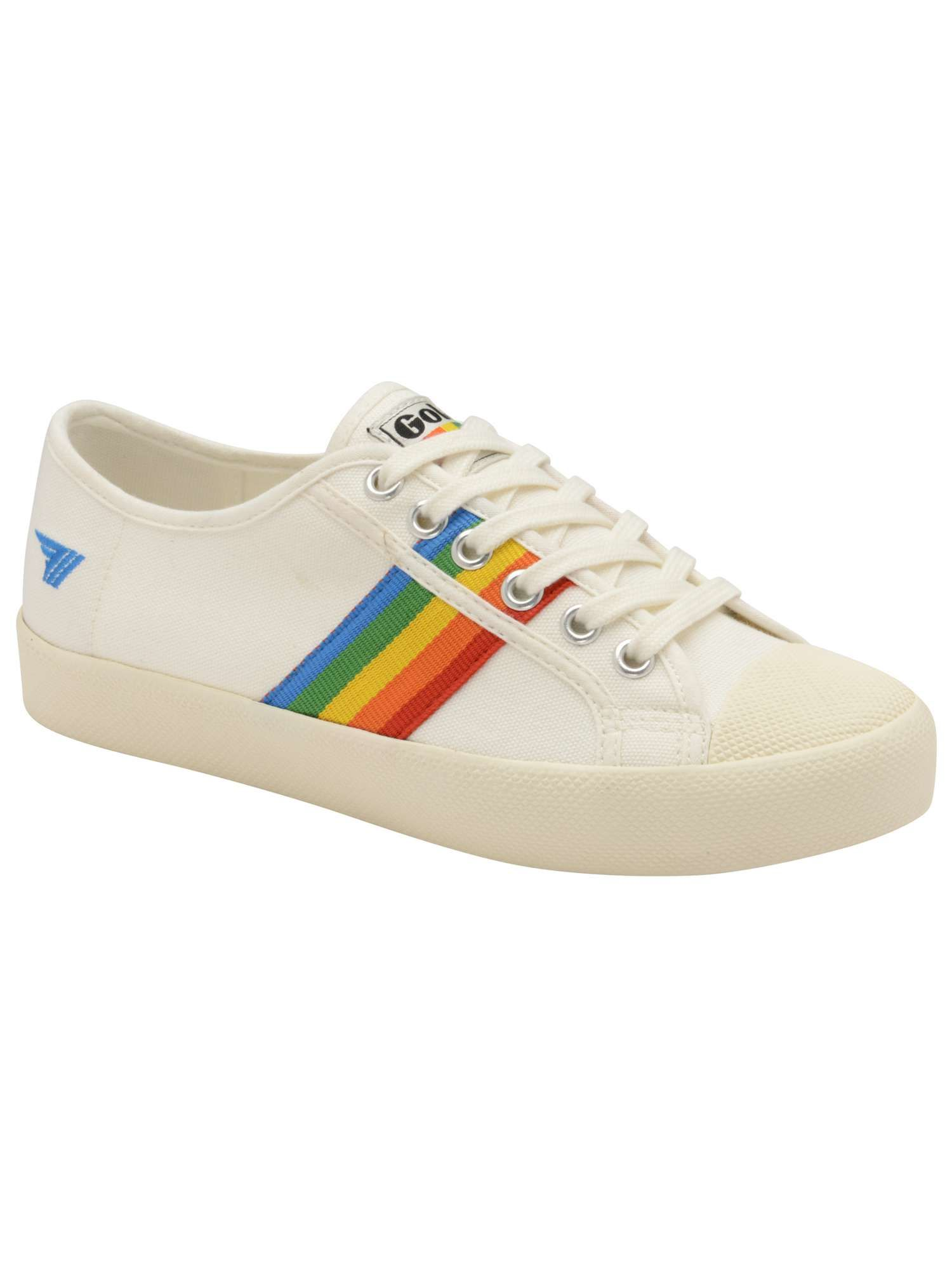 578d8a4ad47e41 Gola Coaster Rainbow Lace Up Trainers - House of Fraser