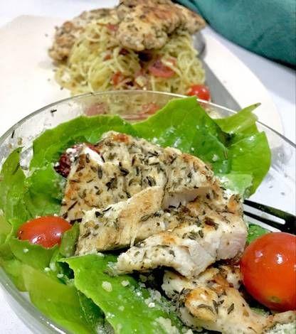 Resep Ayam Panggang Teflon Tanpa Minyak Untuk Diet Oleh Ichaauliaami Resep Resep Ayam Ayam Panggang Makanan Sehat