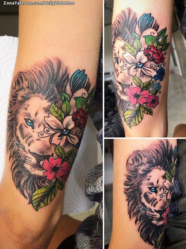 Tatuaje hecho por Dolly Balducci, de Tarragona (España). Si quieres ponerte en contacto con ella para un tatuaje o ver más trabajos suyos visita su perfil: https://www.zonatattoos.com/dollybbtattoo    Si quieres ver más tatuajes de leones visita este otro enlace: https://www.zonatattoos.com/tatuaje.php?tatuaje=109785