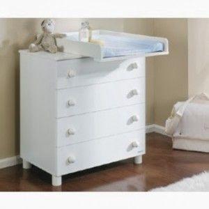 Resultado de imagen para mueble cambiador para bebe - Comoda cambiador bebe ...