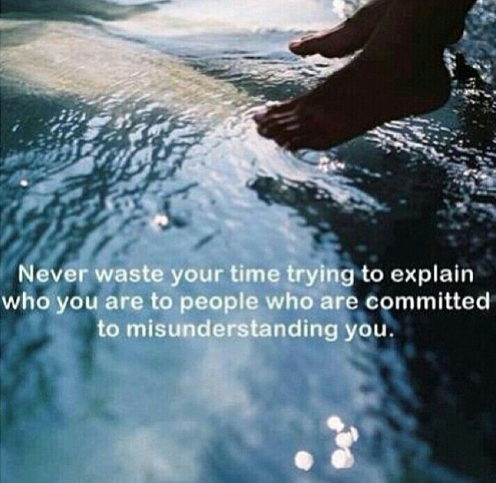 Never waste your time ..
