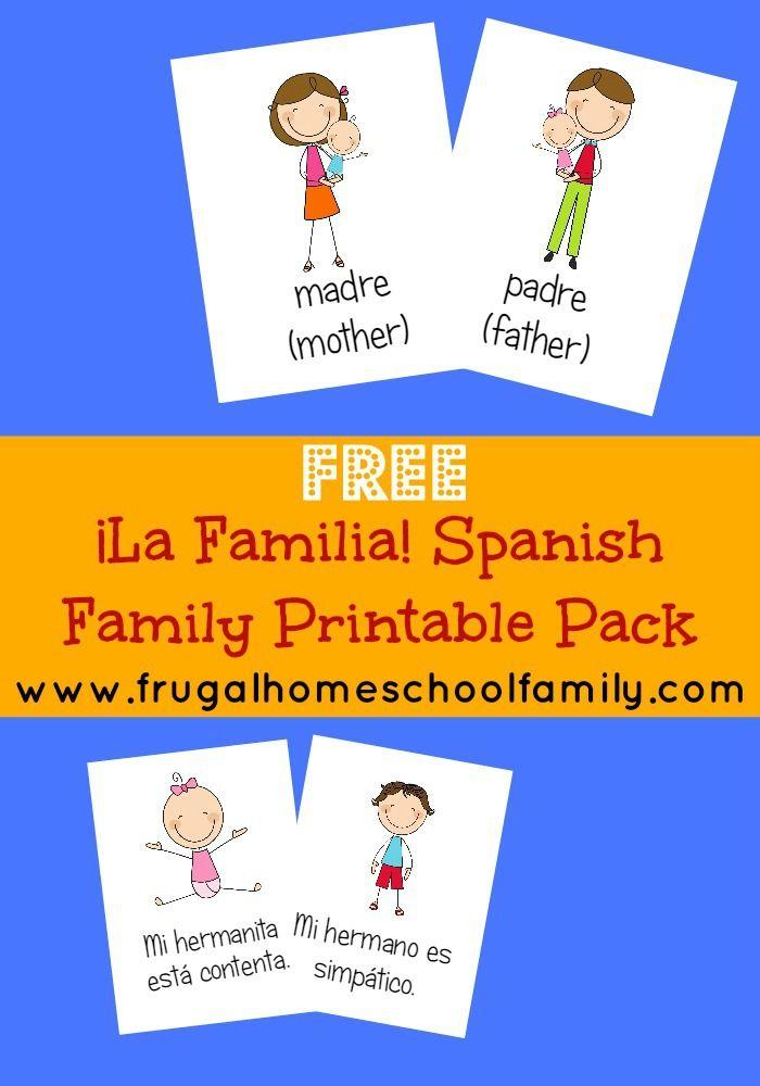 Die besten 25 spanische arbeitsbl tter familie ideen auf - Baum auf spanisch ...