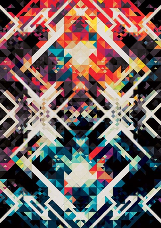 Geometrical Designs by Andy Gilmore | Different shapes ...
