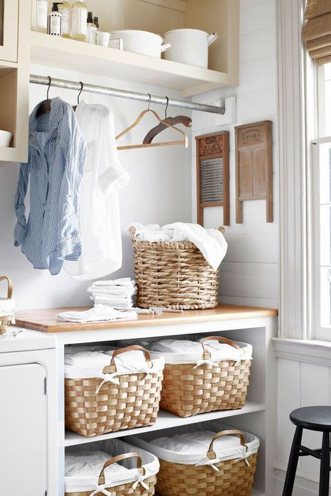 Laundry Room Ideas That'll Make the Small Space Functional