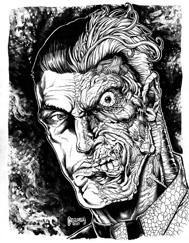 Two-Face by Daniel Carreira