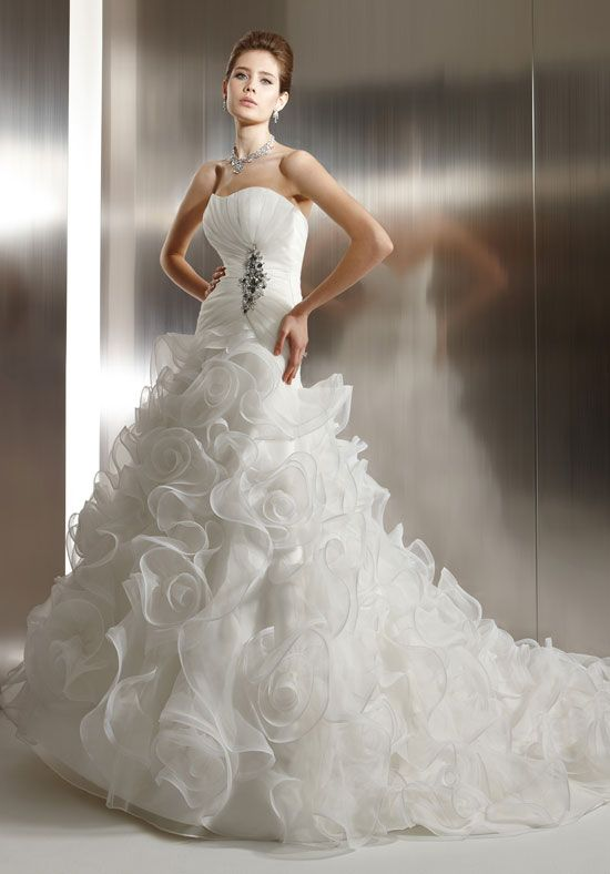 jasmine bridal style t483 | Bridal Gowns T483, Jasmine Couture Bridal Gowns style T483, T483 ...