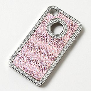 CLAIRE'S CRYSTAL STUDDED GLITTER IPHONE COVER