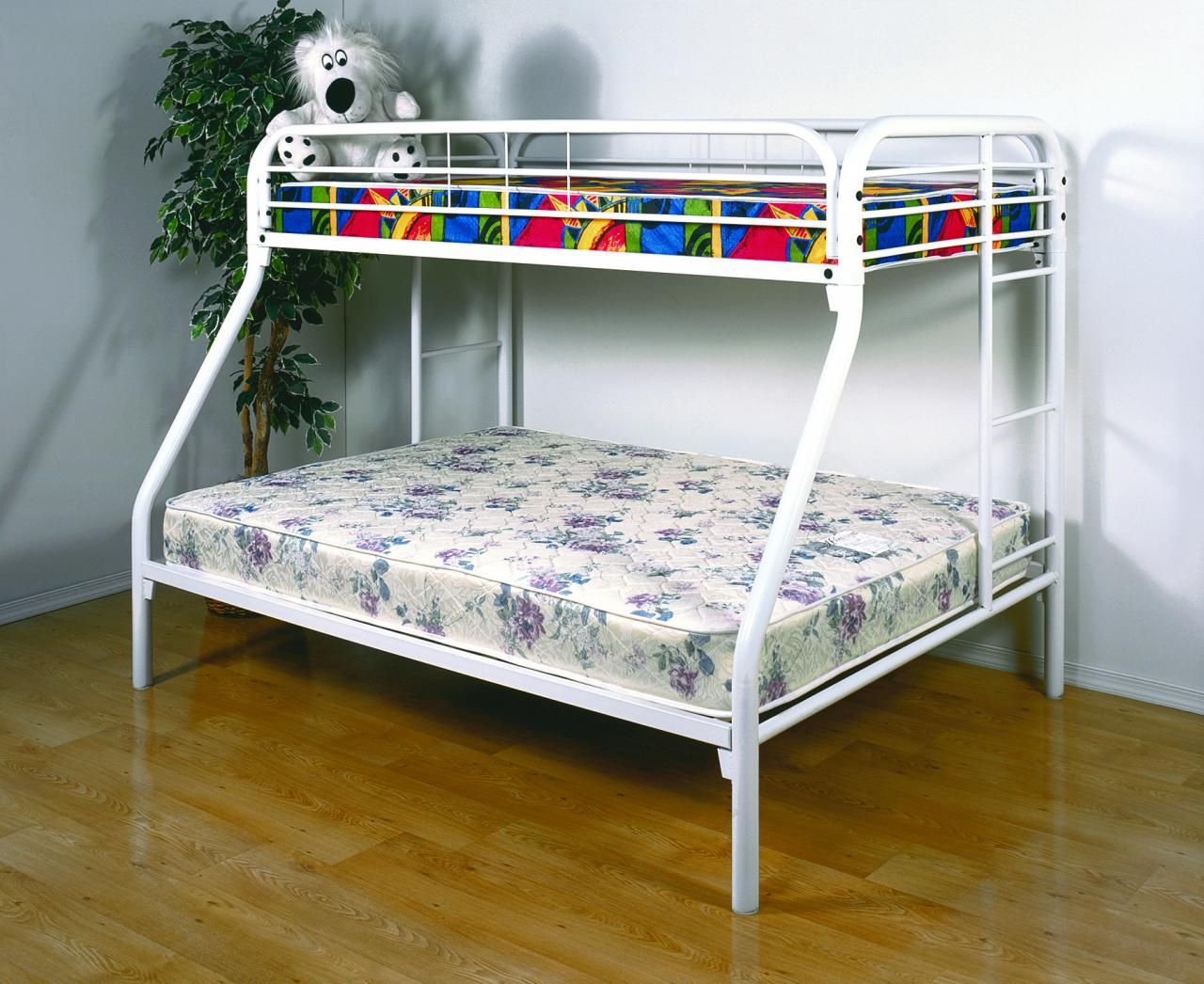Metal Bunk Beds With Thick Mattress