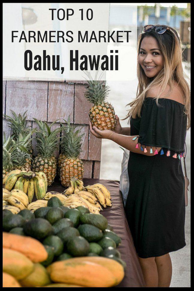 FARMERS MARKET ON OAHU (With images) Oahu, Hawaii