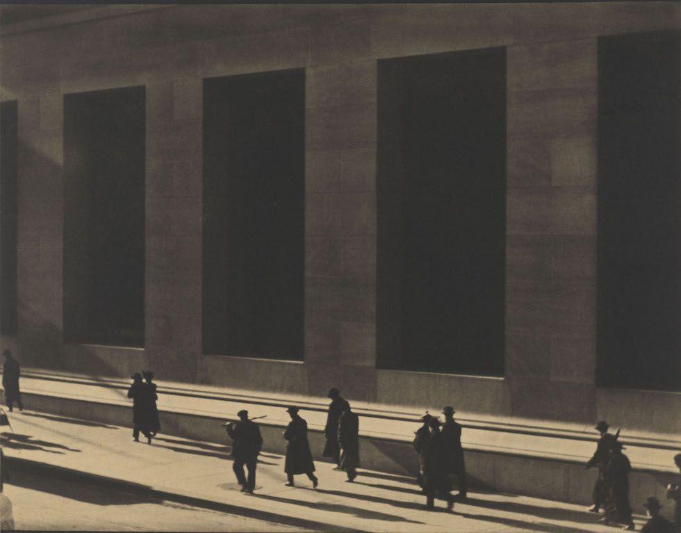 Wall Street, New York, 1915, Paul Strand © Paul Strand Archive, Aperture Foundation