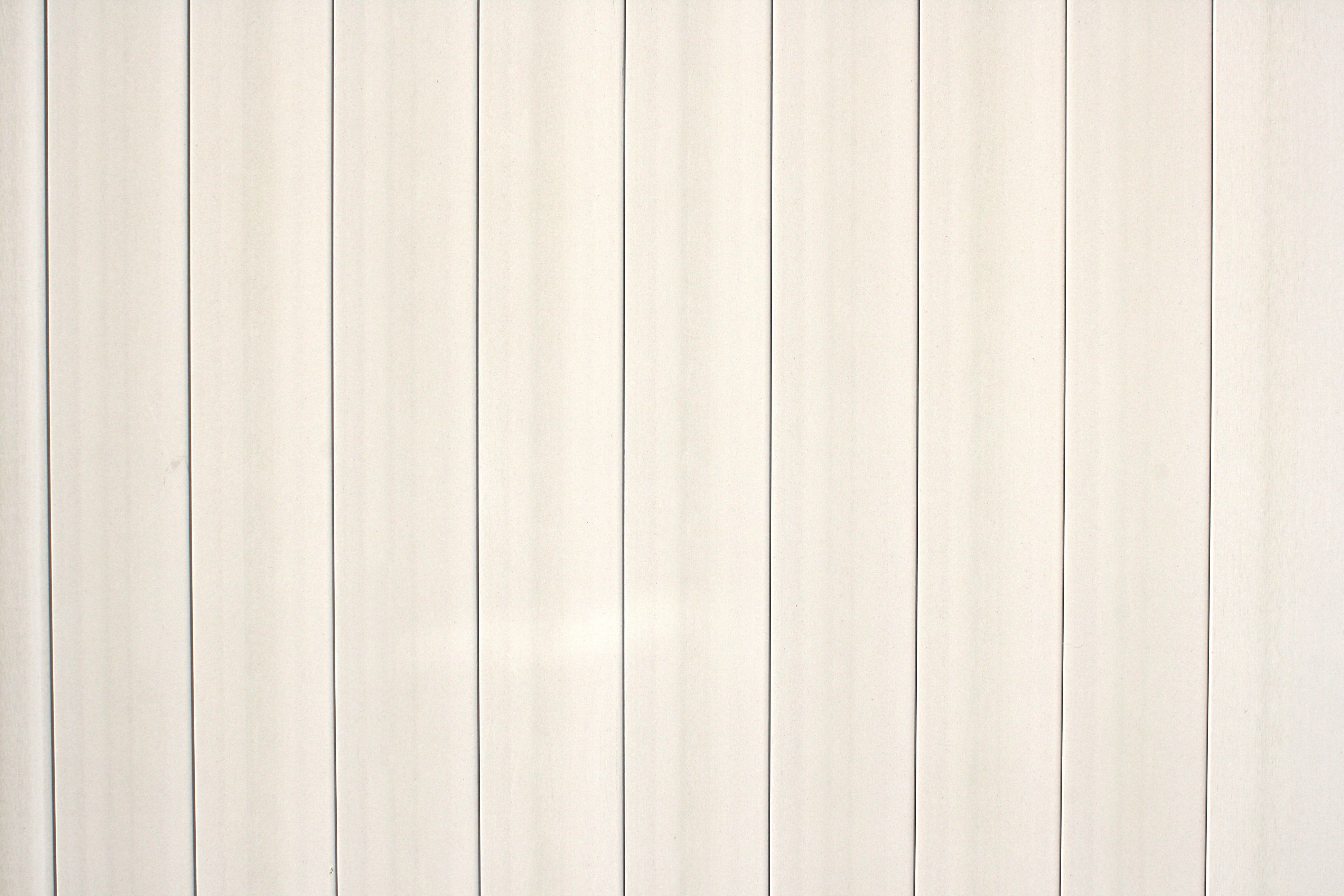 White Plastic Fence Boards Texture