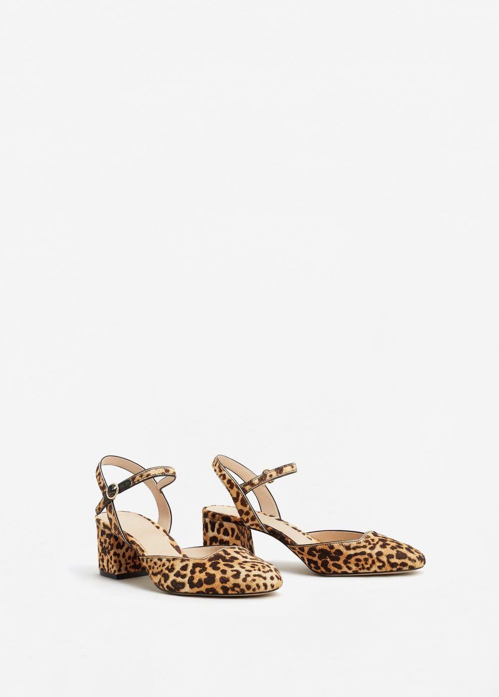 Buty Skorzane W Lamparcie Cetki Kobieta Mango Polska Zapatos Leopardo Zapatos De Estampado De Leopardo Zapatos Mujer