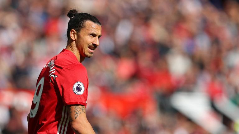 Zlatan Ibrahimovic Turns 35 But Keeps Getting Better With Age Skysports His Goal To Match Ratio Has Mained Impressively High Since His Move To England W S