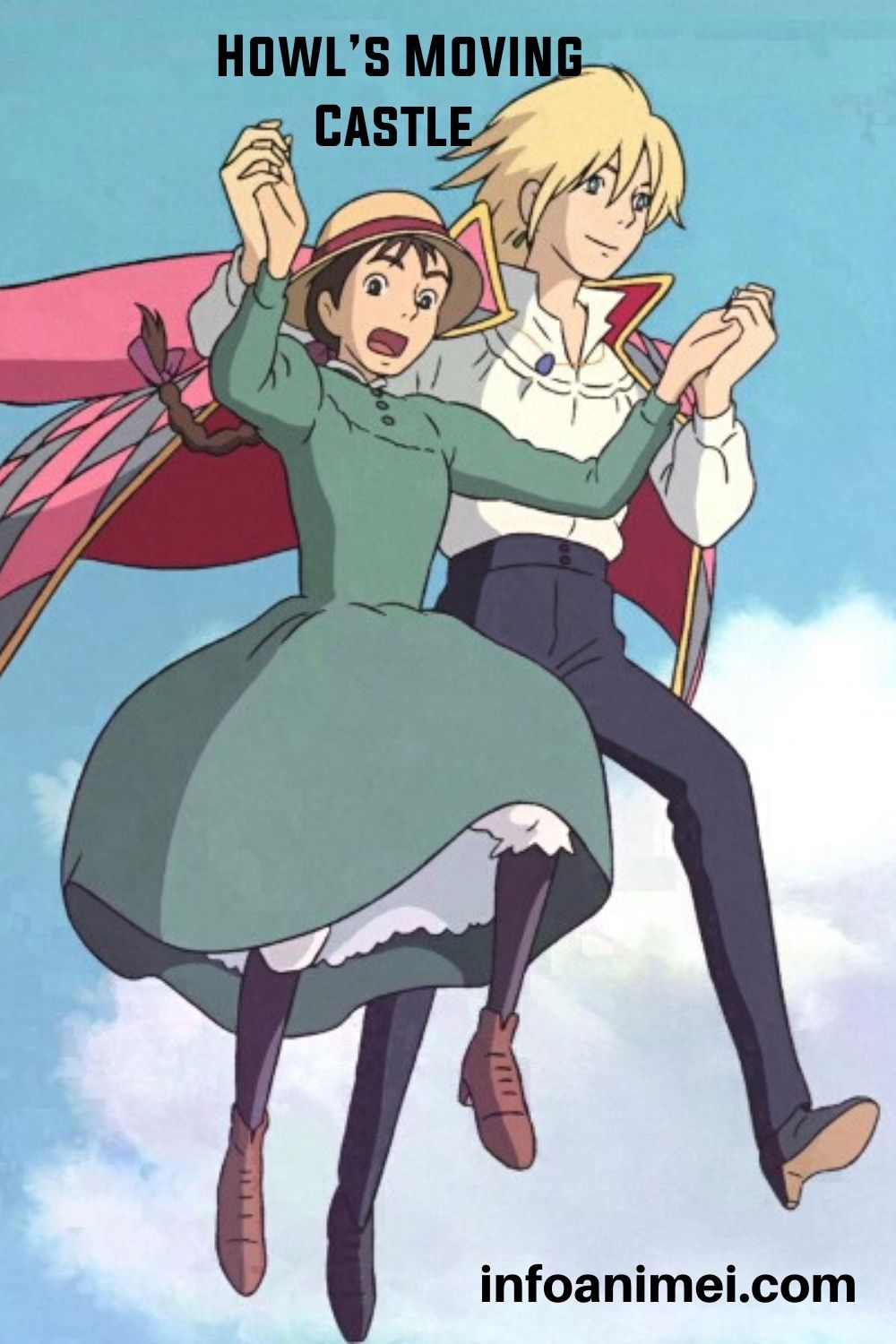 Howl's Moving Castle Top Best Action Anime Movie in 2020