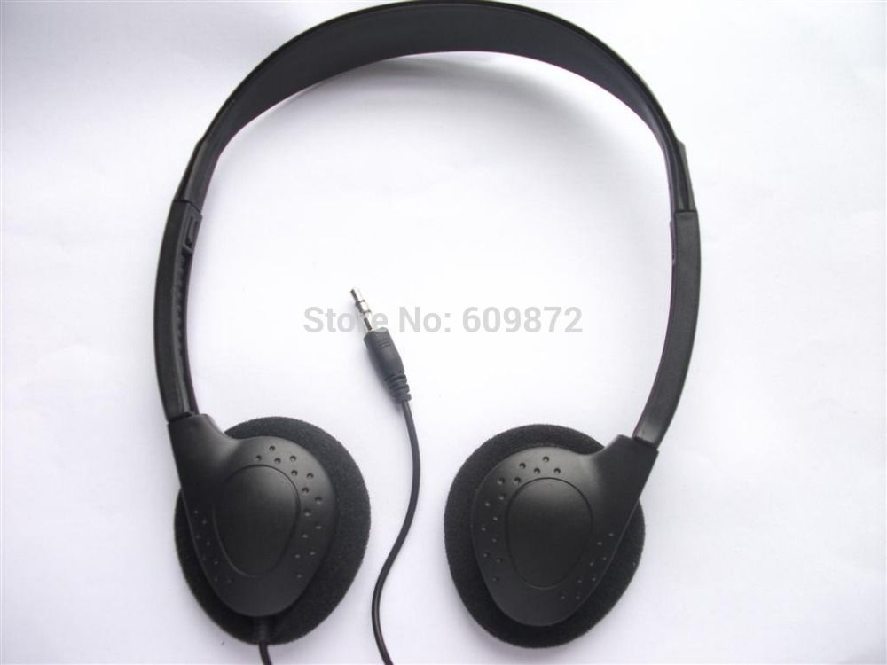 86a62525cfd Linhuipad low cost disposable headsets stereo headphone for hospital  fitness center