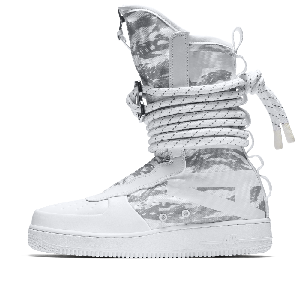 Nike SF Air Force 1 Hi Ibex Men's Boot Size 12.5 (White