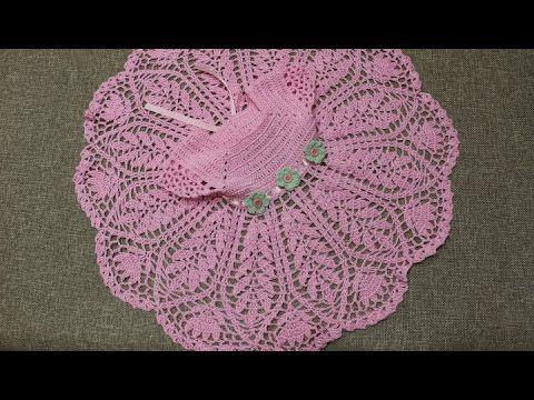Tutorial en español de Vestido a Crochet para Niña ...