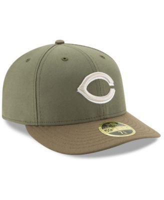more photos 8aa02 7f681 New Era Cincinnati Reds Low Profile Ac Performance 59FIFTY Fitted Cap -  Green 7