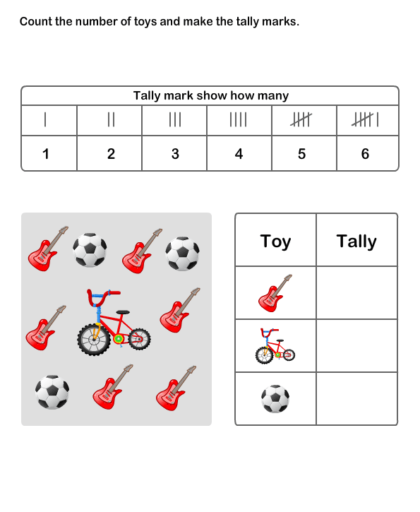 Tally Chart Worksheet 8 math Worksheets grade1 Worksheets – Tally Chart Worksheets