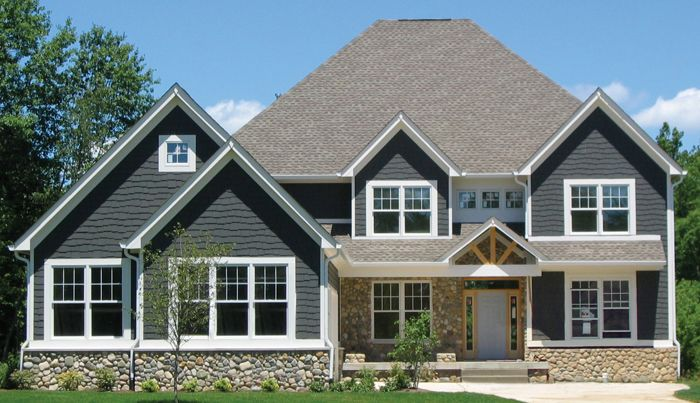two story house plans   House Plans SF Story Bedroom    two story house plans   House Plans SF Story Bedroom Stone Shingle house plans       home plans ideas   Pinterest   House plans  Craftsman and