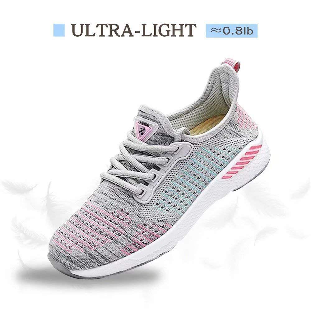 VISIONREAST Women Knit Running Shoes