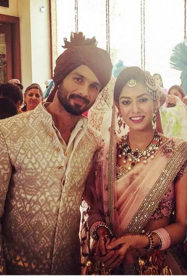 Shahid Kapoor S Wedding 10 Pics Shahid Kapoor Wedding Bollywood Wedding Indian Celebrities